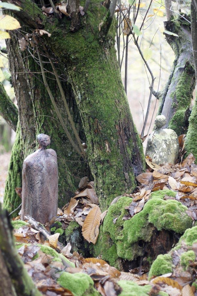 esculturas bosques