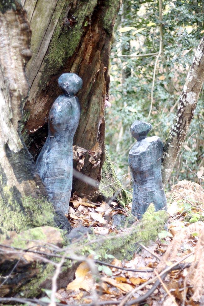 esculturas jardin dos