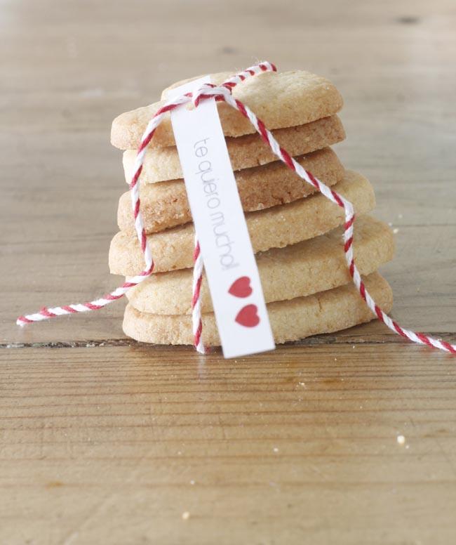 galletas forma corazon