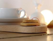 Desayuno para San Valentín: te + galletas. DIY