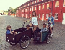 Copenhague con niños: Christiania Bike