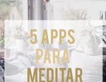 5 apps para meditar