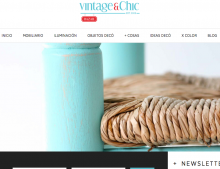 el nuevo look de Vintage & Chic