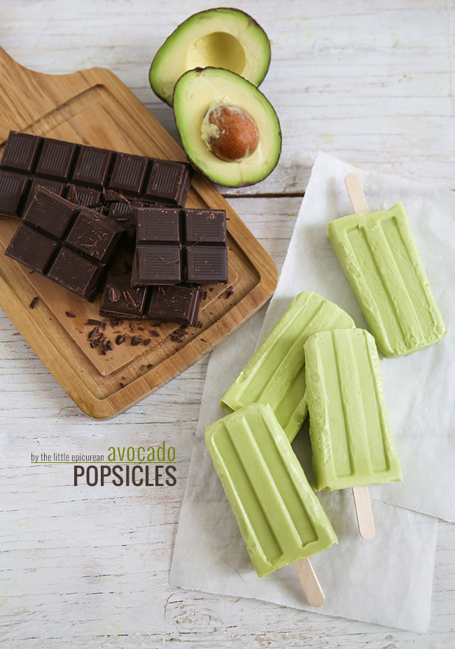 Avocado-Popsicles