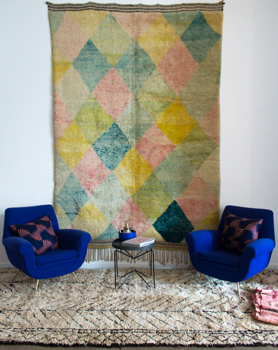 honey-kennedy-kat-and-maouche-vintage-moroccan-rugs-pdx-shop-visit-04