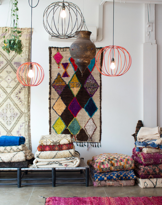 honey-kennedy-kat-and-maouche-vintage-moroccan-rugs-pdx-shop-visit-05