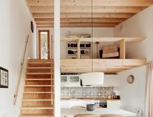 Una casita de madera en el Pirineo
