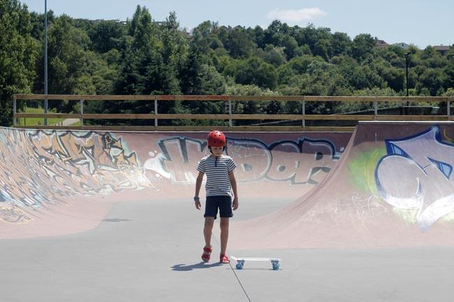 skate niños